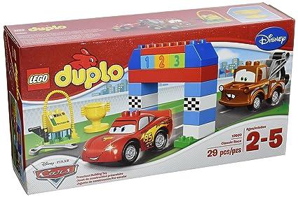 Amazoncom Lego Duplo Disney Pixar Cars Classic Race 10600 Toys