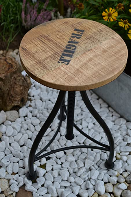 Adjustable Stool Footstool - 73 cm Flexible Hocker Workshop Stable ...