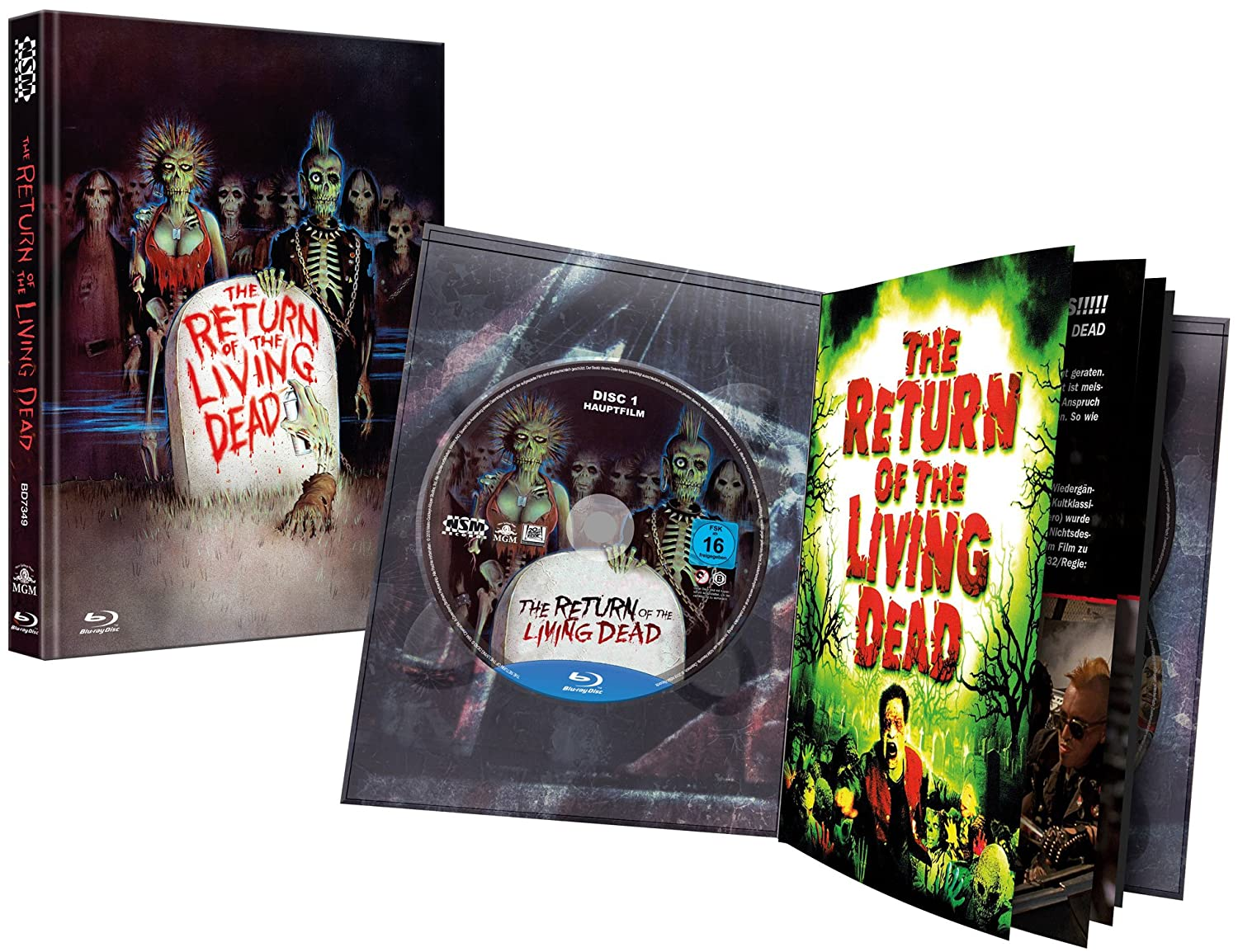 AT - Return of the Living Dead (Ultimate Edition) (Mediabook) - Blu-ray  Forum