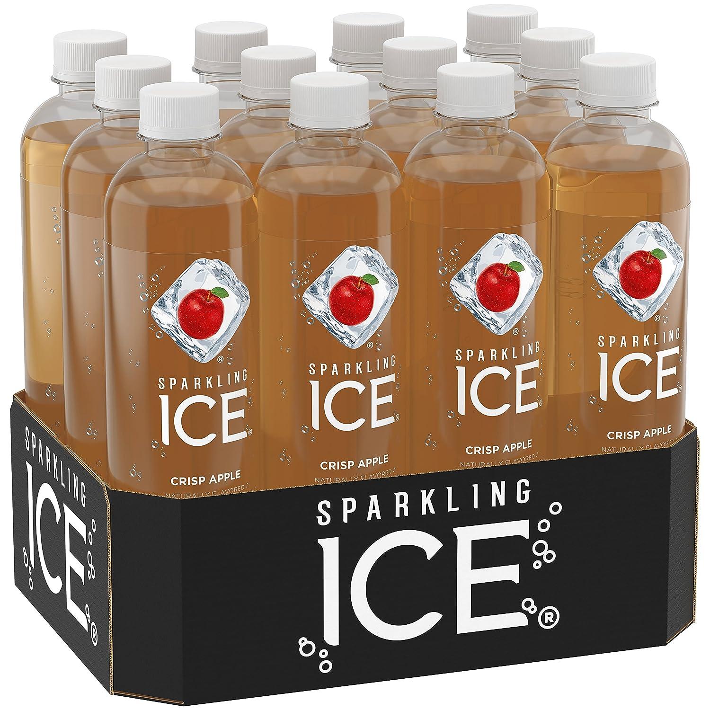 Amazon.com : Sparkling Ice Crisp Apple, 17 Fl Oz Bottles (Pack of 12 ...