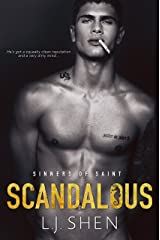 Scandalous (Sinners of Saint Book 4) Kindle Edition