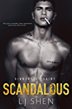 Scandalous (Sinners of Saint Book 4) (English Edition)
