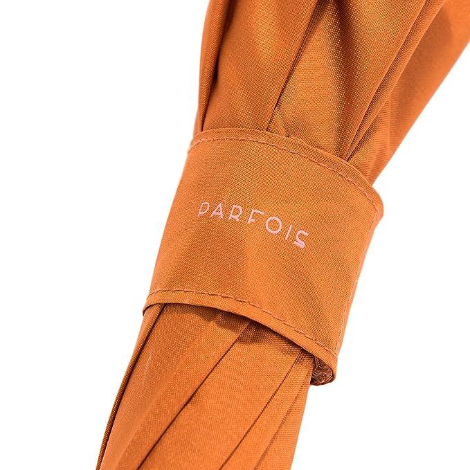 Parfois - Paraguas Paraguas Grande Liso Naranja - Mujeres - Tallas L - Naranja Oscuro: Amazon.es: Equipaje