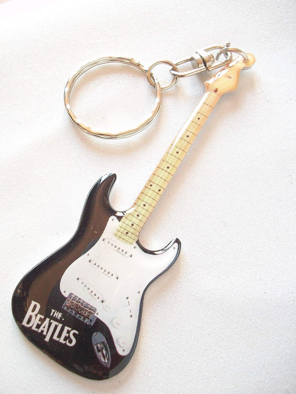 Llavero de metal con forma de guitarra eléctrica The ...