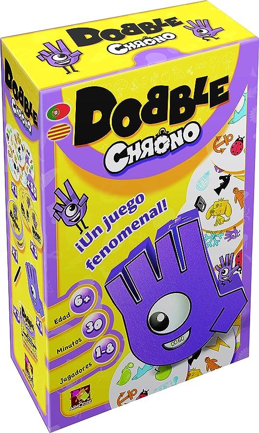Asmodee- Juego de Cartas Dobble Chrono (ADE0DOB02ML): Amazon.es: Juguetes y juegos