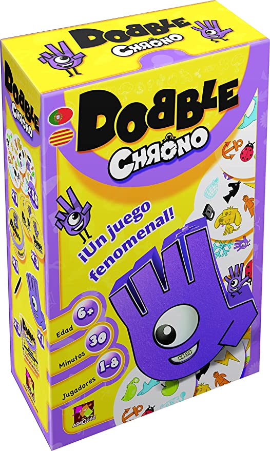 Amazon.com: Asmodee – Dobble Chrono: Toys & Games