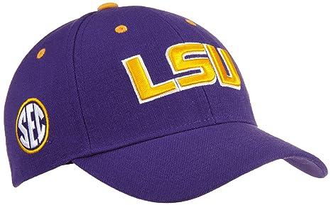 7c60a4e7 Amazon.com : Louisiana State Adult Adjustable Triple Conference Hat ...