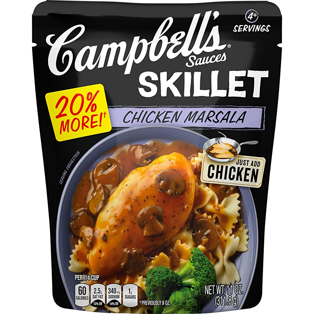 Campbell's Skillet Sauces, Chicken Masala, 11 Ounce