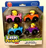 Little People Wheelies (4x4, Sports Car, Rally Car, Hot Rod) by Little People