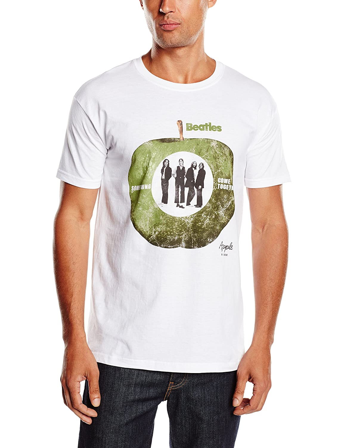 The Beatles Men's Something Come Together Short Sleeve T-Shirt