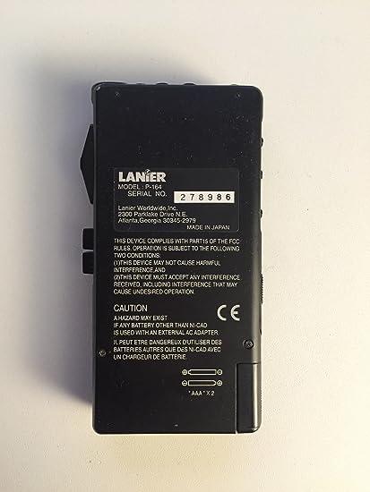 Amazon.com: Lanier p-164 Micro Cassette Portable Recorder ...
