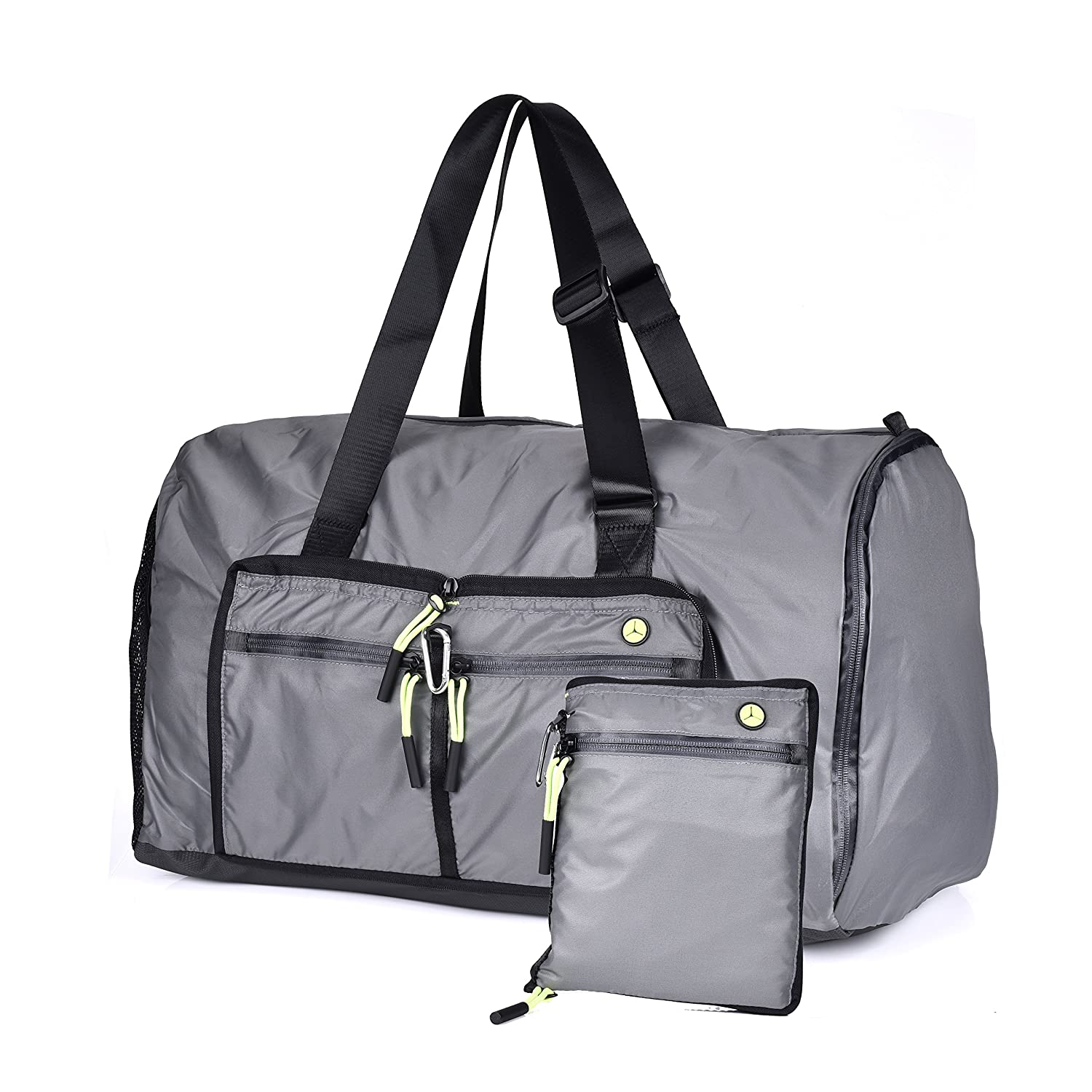 Travel Duffel Bag 70L Overnight Bag Large Sports Duffle Tote for Men and Women Waterproof Carry on Weekender Bags with Shoe Compartment Ok-Dragon unisex fashion