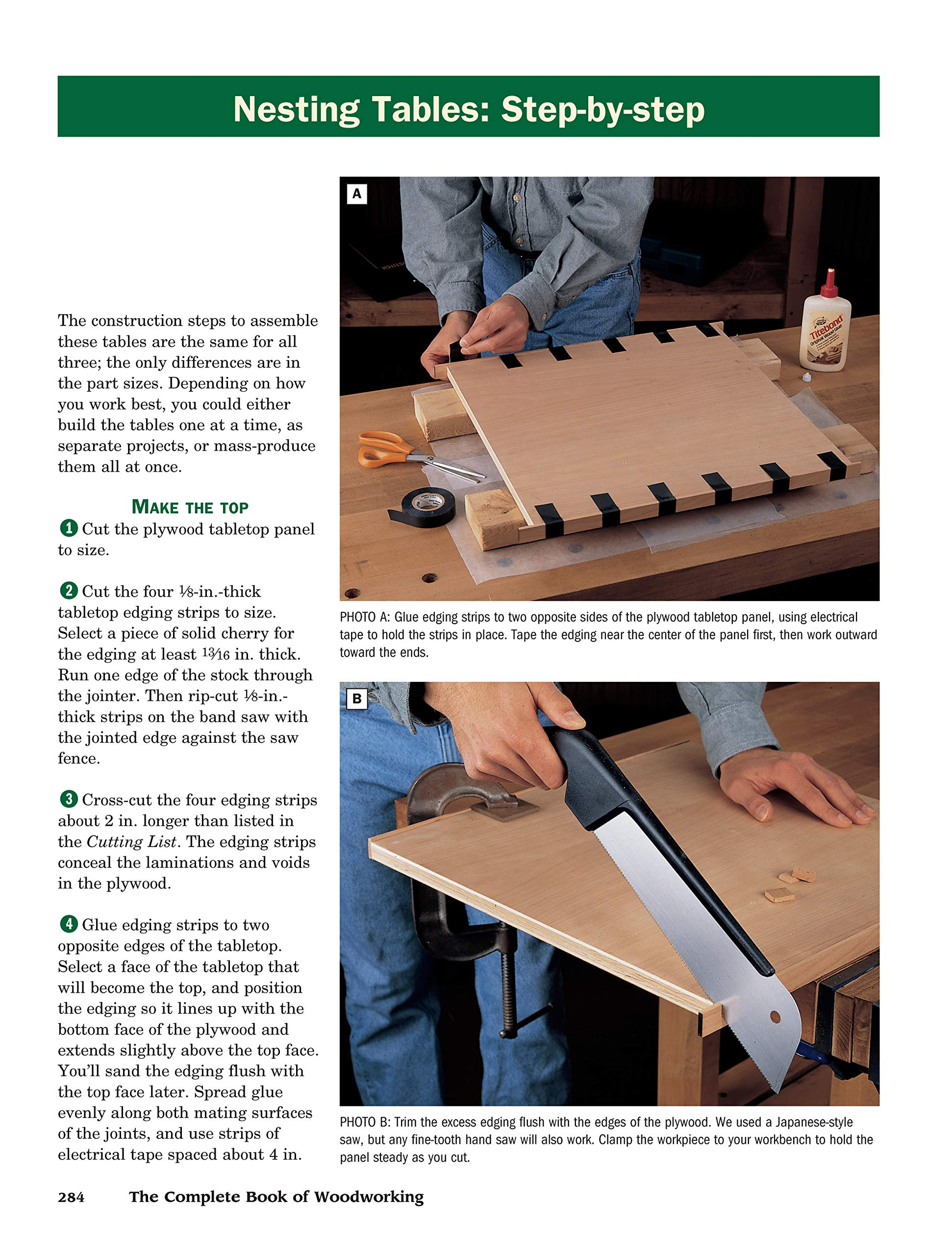 The Complete Book of Woodworking: Step-by-Step Guide to Essential Woodworking Skills, Techniques and Tips (Landauer) More Than 40 Projects with Detailed, Easy-to-Follow Plans and Over 200 Photos by Design Originals (Image #6)