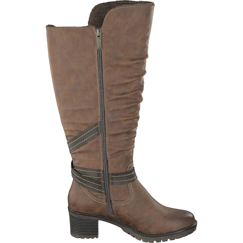 Relife Damen Damen Damen Schuhe Stiefel 8717-18808B-09R in 2 Farben d6605b
