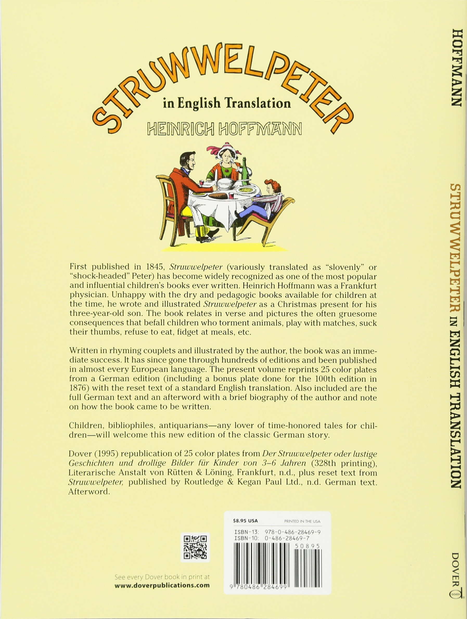 Struwwelpeter In English Translation Heinrich Hoffmann 9780486284699 Books