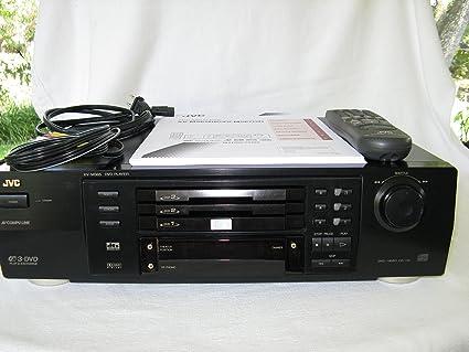 JVC xvm565bk reproductor de DVD de 3 discos: Amazon.es: Electrónica