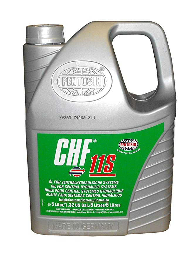 Pentosin 1405216-C CHF 11S Synthetic Hydraulic Fluid, 5 Liter (Case of 3)