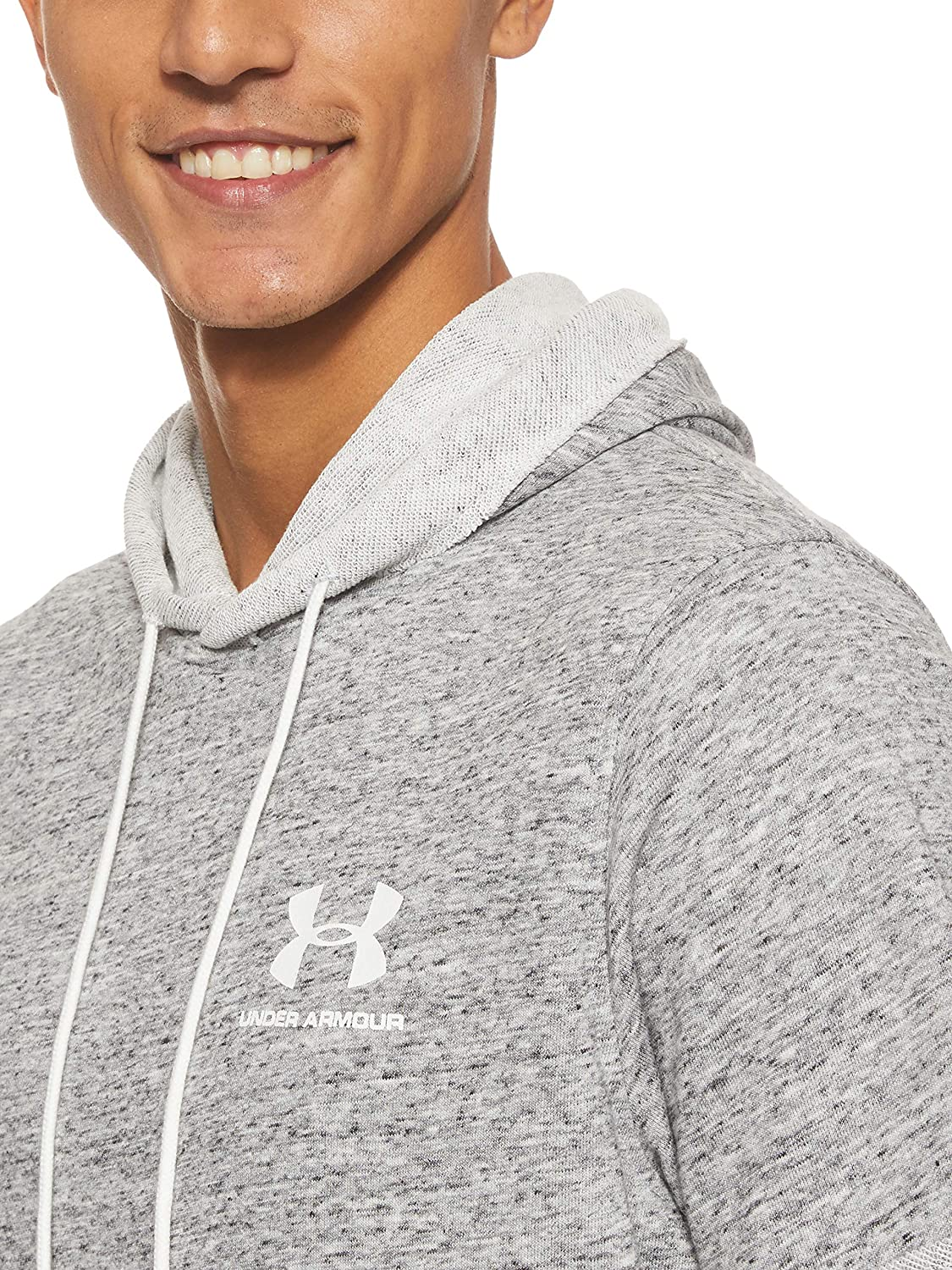 Under Armour mens Sportstyle Terry Short Sleeve Hoodie