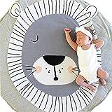Longra ♥Dibujos animados infantiles infantiles Creeping Mat decoración de la habitación manta
