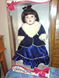 Victorian Collection: Genuine Porcelain Doll By Melissa Jane, Limited Collector's Edition with Certificate of Authenticity and Stand - Item #2500