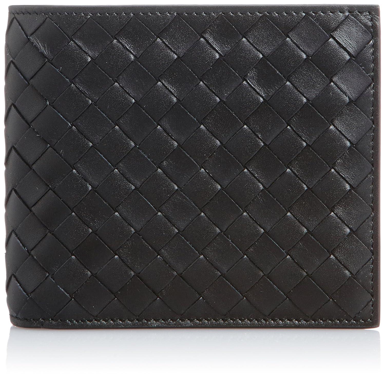 [ボッテガヴェネタ] 二つ折り財布 イントレチャート 193642-V4651 [並行輸入品] B004FUFFT2ブラック