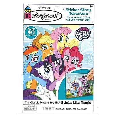 The Original Color Forms Brand - Sticker Story Adventure, 2 Sets: Toys & Games