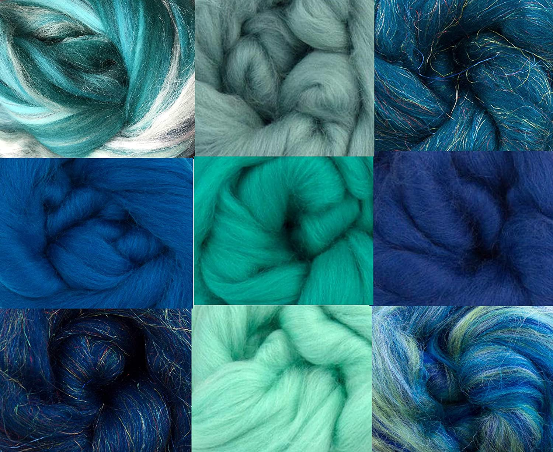 Ocean Pack of 9 Merino Wool Tops