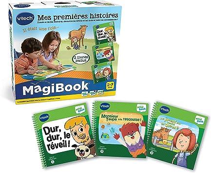 VTech MagiBook – Libros educativos para niños en Edad de guardería, Pack de 3: Amazon.es: Juguetes y juegos