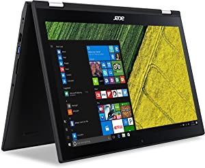 "Acer Spin 3 2-in-1 Laptop, 15.6"" Full HD Touch, 7th Gen Intel Core i3, 6GB DDR4 RAM, 1TB Hard Drive, Windows 10, SP315-51-34CS"