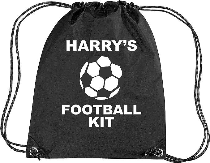 Negro personalizable con de balón de fútbol para las niñas juego ...