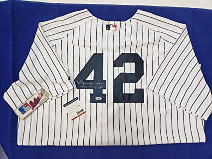 f0930497a Mariano Rivera Signed New York Yankees Jersey at Amazon s Sports ...