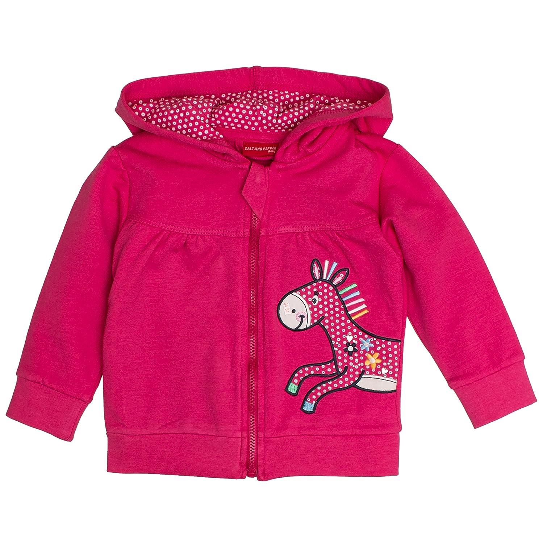 SALT AND PEPPER Baby-M/ädchen B Jacket Funny Uni Esel Kap Jacke