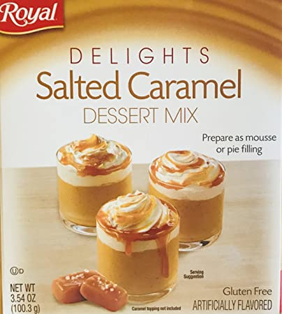 Royal Delights Dessert/Pie Filling Mix! Choose From 2 Flavors! Salted Caramel or