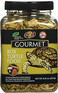 Gourmet Box Turtle Food Net Wt 8.25oz (254g)