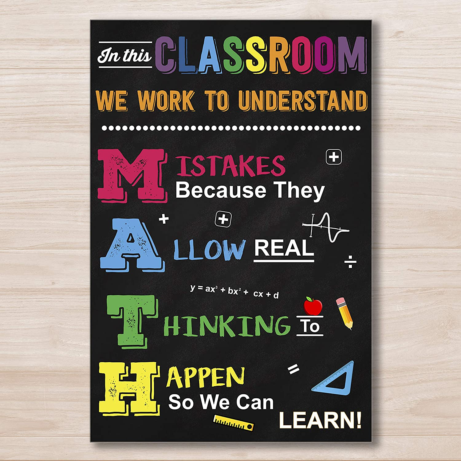 set of 3 large classroom poster be kind classroom sign instant download inspirational quote sign digital print teacher gift for class