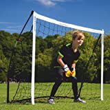 QUICKPLAY Kickster Academy Soccer Goal Range – Ultra Portable Soccer Goal Includes Soccer Net and Carry Bag [Single Goal] Now