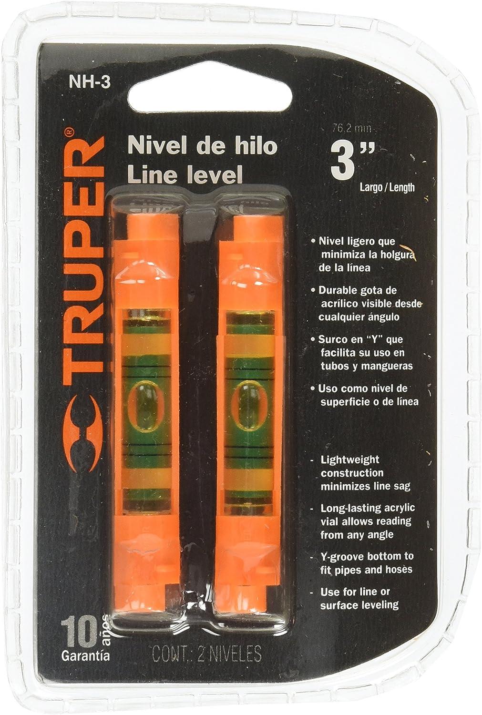 Truper NH-3 Naranja nivel - niveles (Naranja): Amazon.es ...