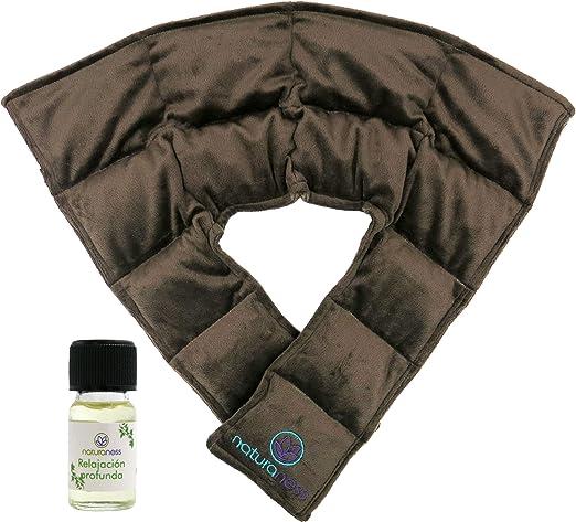 Compresa cojín para cuello u hombros con semillas y plantas medicinales COMPRESA