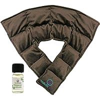 Compresa cojín para cuello u hombros, con semillas y plantas medicinales (COMPRESA)