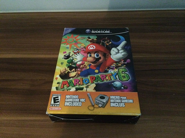Mario Party 6 with Microphone (GameCube) [Importación Inglesa]: Amazon.es: Videojuegos