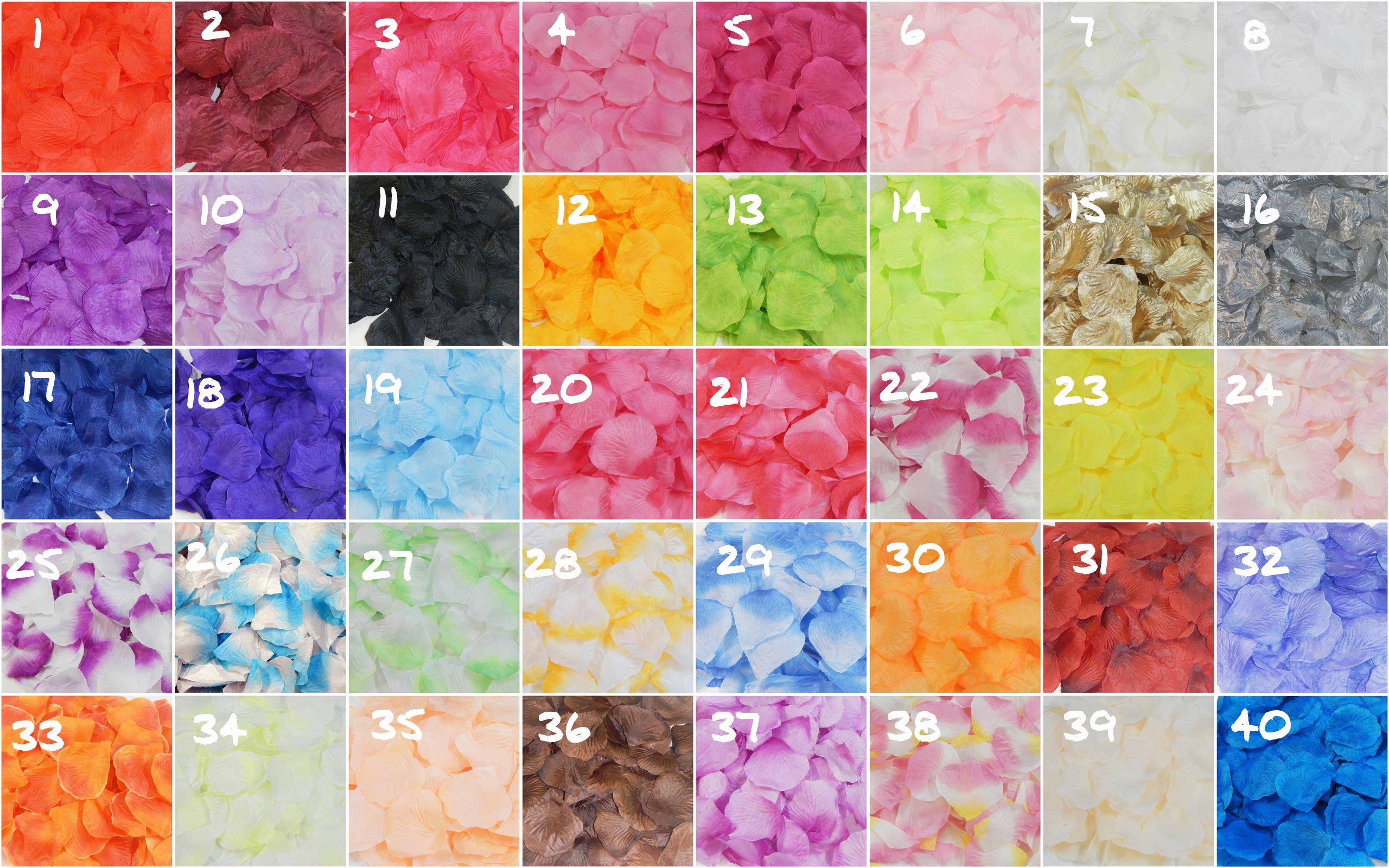 1000-Silk-Rose-Petals-for-Wedding-Flower-Bridal-Decoration-Girls-Baskets-Party-Etc-40-Color-to-Choose