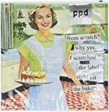Paperproducts Design 20-Pack From Scratch Paper Cocktail Napkins