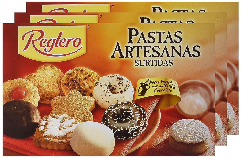 Reglero - Pastas Artesanas Surtidas - 400 g - [pack de 3]: Amazon.es: Alimentación y bebidas