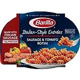 Barilla Italian Entrees, Sausage & Tomato Rotini, 9 Ounce (Pack of 6)