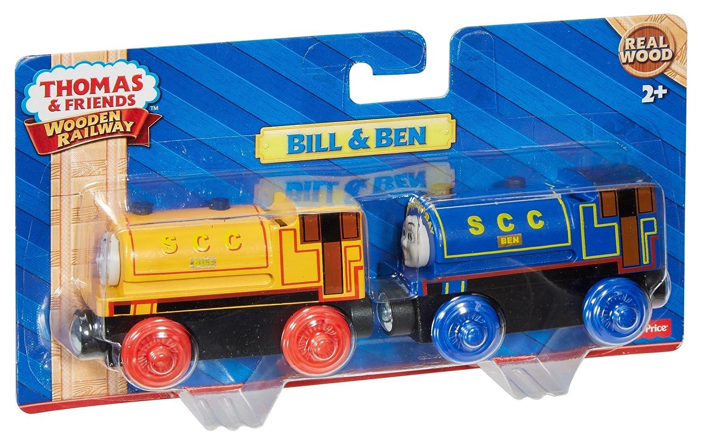 Thomas the train bathroom set - Amazon Com Fisher Price Thomas Friends Wooden Railway Bill Ben Trains Toys Games