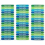 50 Etiquetas adhesivas para marcar objetos 6 x 1cm. PALETA 5