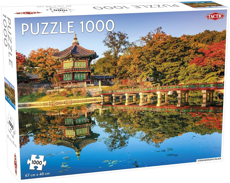 2019高い素材  Tactic Gyeongbokgung Palace Gyeongbokgung B07FLDFBK4 ジグソーパズル Tactic (1000ピース) B07FLDFBK4, PUICK:4df70c90 --- 4x4.lt