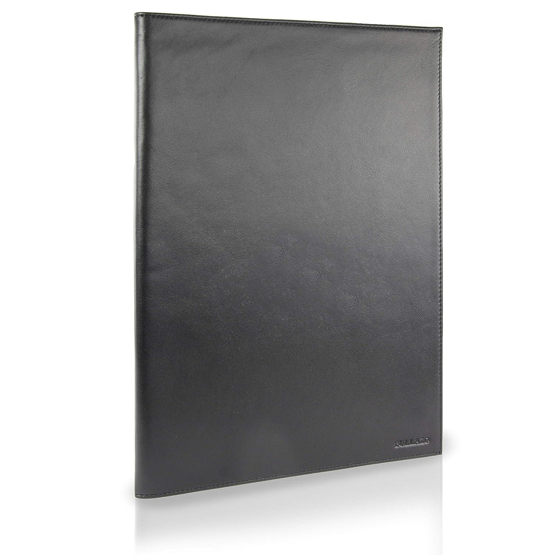 colore: Nero Cartella portadocumenti in pelle formato A4 BULLAZO Documento Flat