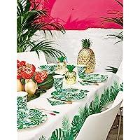 Talking Tables Fiesta Suministros de Fiesta   Mantel de Papel de Fiesta   Ideal para Fiestas temáticas de la Selva…