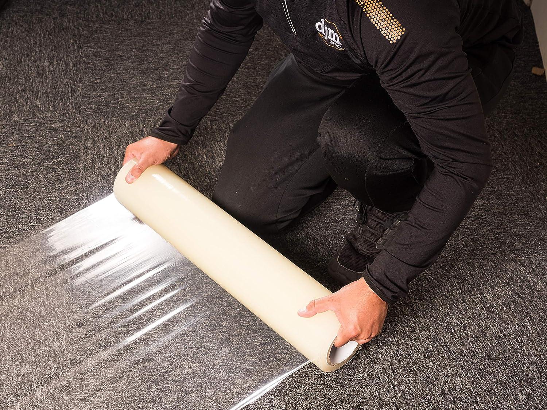 Djm Direct pellicola protettiva autoadesiva per tappeti e moquette 600/mm x 25/m o 100/m